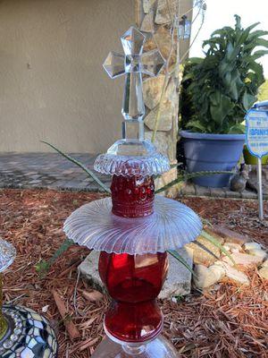 Garden totem, garden decor, cross for Sale in Largo, FL