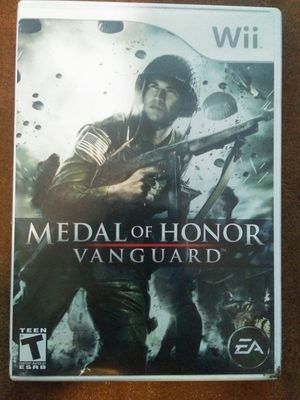 Medal of Honor: Vanguard Nintendo Wii for Sale in Oshkosh, WI