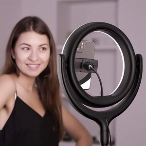 """$45 (brand new) led 10"""" ring light, 67"""" tripod stand for Sale in Whittier, CA"""