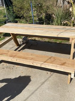 Tables And Benches 6ft Tables for Sale in Fresno,  CA