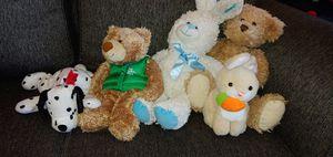 7 stuffed animals for Sale in Garden City, MI