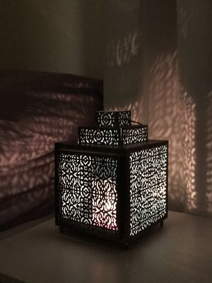Antique Moroccan Candle Lamp for Sale in Boston, MA