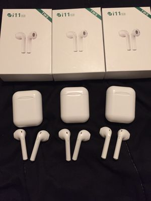mini wireless headphones w mic iphone and androids 20$ for Sale in Rancho Cucamonga, CA