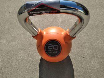 New kettlebells 15 20 lb for Sale in Fresno, CA