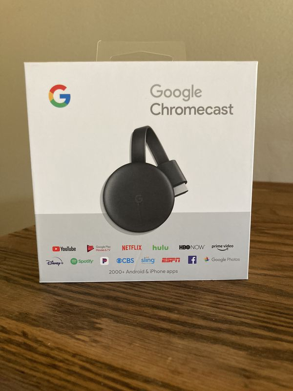 Google Chromecast (3rd edition)