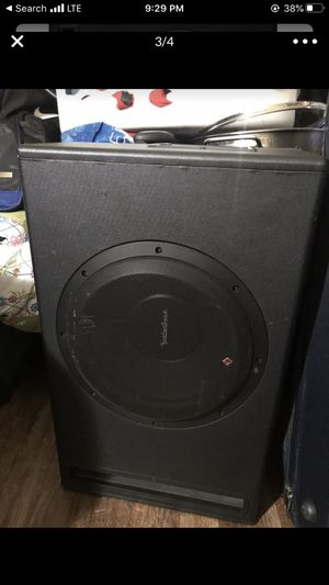 Subwoofer with built in amplifier for Sale in San Clemente, CA