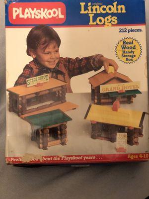 1989 Playskool Lincoln Logs for Sale in Hayward, CA
