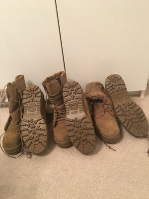 Army issued boots for Sale in Manassas, VA