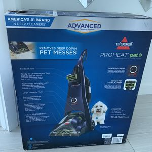 BISSELLProHeat Pet Advanced Upright Carpet Cleaner - Model # 1799 for Sale in Miami, FL
