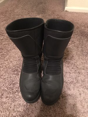 Men's BMW motorcycle boots, sz 12 for Sale in Tracy, CA
