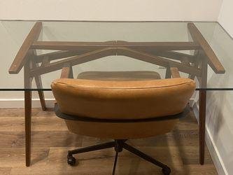 West Elm Desk & Chair for Sale in Seattle,  WA