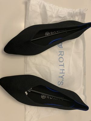 Rothy's Point Toe Black Flats 7.5 for Sale in Gilbert, AZ