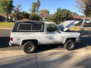 1977 Chevrolet blazer for Sale in Rialto, CA