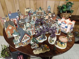 Christmas village statues for Sale in Greenville, SC