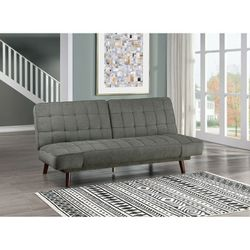 Online Price ‼️🎊🎉 Dark gray Futon & Click-Clacks • (Sofa/Sleeper) • Delivery • Assembly • FREE 🔥 Financing ‼️Same as cash for Sale in Henderson,  NV