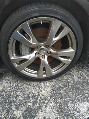 Infiniti parts sports rims 20inch for Sale in HALNDLE BCH, FL