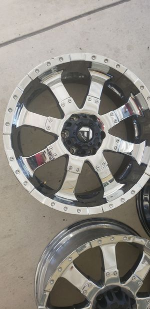 "FUEL Brand- Ford Expedition 20"" Rims for Sale in Anaheim, CA"