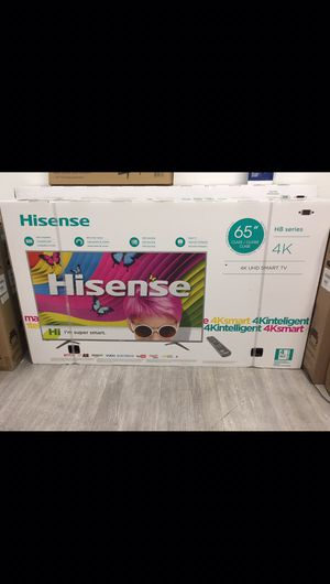 65 INCH HISENSE 4K SMART TV for Sale in Chino, CA
