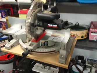 PORTER CABLE 12 INCH MIDER SAW for Sale in Piscataway,  NJ