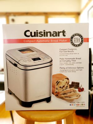 Cuisinart CBK-110 2-Pound Compact Automatic Bread Maker for Sale in Torrance, CA