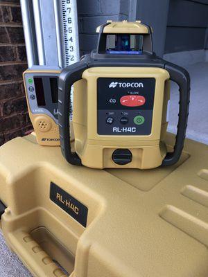 Topcon RL-H4C Self-Leveling Rotary Laser Kit for Sale in Manassas, VA