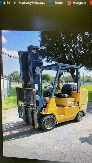 Caterpillar GC45KS1 10,000 # Capacity SS 3S Forklift $11,000 obo for Sale in Houston, TX