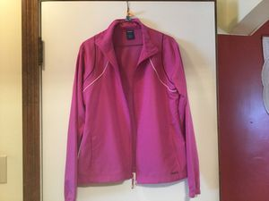 Reebok warm up jacket for Sale in Ellwood City, PA