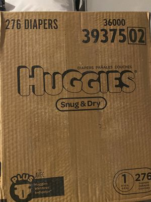 Huggies Snug & Dry Size 1 for Sale in Hartford, CT