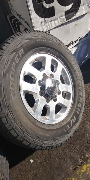 18s 8X180 8 lug pattern with good Cooper tires $450 FIRM for Sale in Stockton, CA