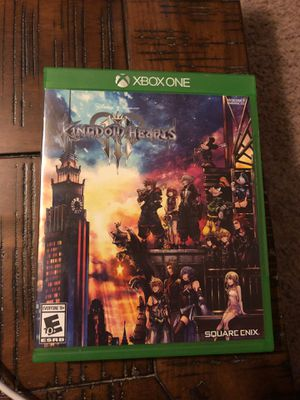 Kingdom Hearts 3 for Xbox for Sale in Houston, TX