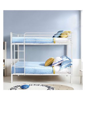Brand new white metal bunk bed (Can Deliver) for Sale in Fresno, CA