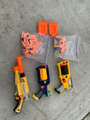 Nerf guns and darts for Sale in Garden Grove, CA