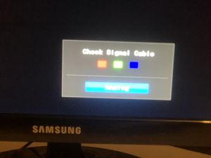 24in Samsung gaming/computer monitor for Sale in Middletown, PA