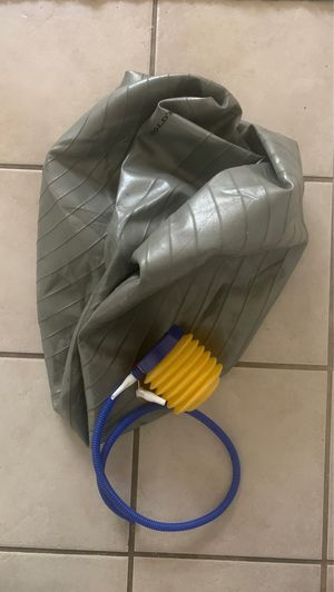 Exercise ball with pump for Sale in Tucson, AZ