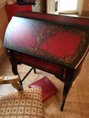 Antique Desk & Chair for Sale in Raleigh, NC
