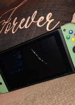 Nintendo Switch With Customized Pastel Green Casing for Sale in Olalla,  WA