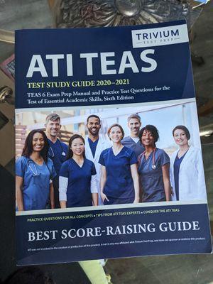 ATI TEAS Test Study Guide 2020-2021 for Sale in Santee, CA