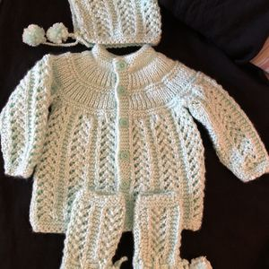 Hand made Baby Woolen Set for Sale in Yardley, PA