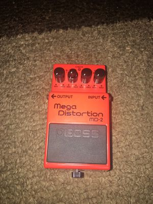 Boss MD-2 Mega Distortion Pedal for Sale in Annandale, VA