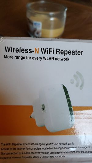Wireless N WIFI Repeater for Sale in Palmdale, CA