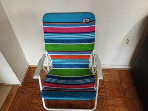 Foldable beach chair for Sale in Gaithersburg, MD