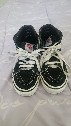 Vans size 2 on youth used for Sale in Selma, CA