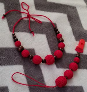 """Sling beads """"Magic red"""" for Sale in Brooklyn, NY"""