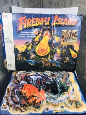 Vintage 1986 Milton Bradley Fireball Island Board Game for Sale in Pawtucket, RI