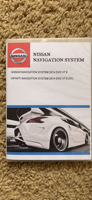 Infiniti/Nissan Navigation System 2014 DVD V7.9 for Sale in Fountain, CO