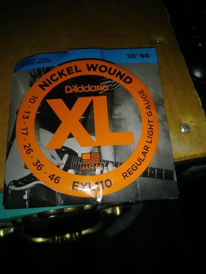 Guitar strings for Sale in Louisville, CO