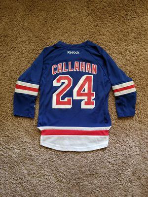 Boys Reebok N.Y. Rangers Callahan hockey jersey Sz 4-7 for Sale in College Park, GA