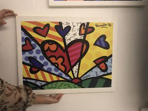 Frames#love#desing#art#romero Brito for Sale in Hialeah, FL