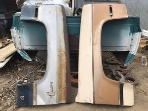 81-87 Chevy Gmc pickup truck pair of fenders for Sale in Modesto, CA