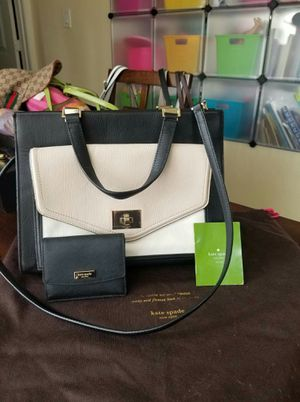 Authentic Kate Spade purse and wallet bundle for Sale in Lincoln Acres, CA